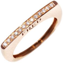 フレッド K18PG ダイヤ13P ミニサクセスリング 指輪(リング) #54(14号)
