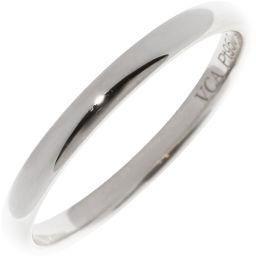 ヴァンクリーフ&アーペル Pt950 タンドルモン マリッジリング(幅2ミリ) 指輪(リング)(VCAR09Y100)