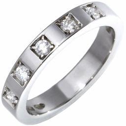 ブルガリ Pt950 ダイヤ5P マリーミーリング 指輪(リング)(AN852593) 7号