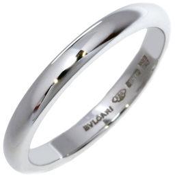 ブルガリ Pt950 フェディ ウェディングリング(幅2.5ミリ) 指輪(リング)(AN214702) 7号