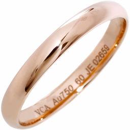 ヴァンクリーフ&アーペル K18PG タンドルモン マリッジリング(幅3ミリ) 指輪(リング)