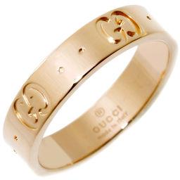 グッチ K18PG アイコンリング 指輪(リング) #9(9号)