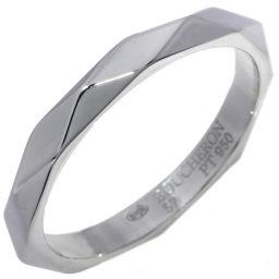 ブシュロン Pt950 ファセットリング 指輪(リング)(JAL00014) #57(16号)