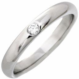 ハリーウィンストン Pt950 ダイヤ1P(約0.04ct) ラウンド・マリッジリング 指輪(リング) 10号