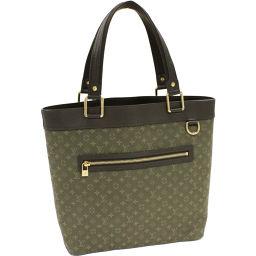 Vuitton Handbag Roussillon GM (M92681) Monogram · Minilan (TST Khaki)
