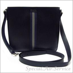 PRADA Prada shoulder bag SAFFIANO CUIR NERO 2 VH 082 3 FAD F 0002