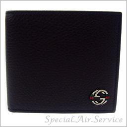 GUCCI Gucci Men's Folded Wallet ACE CELLARIUS Dark Brown 308795 A7MMN 2061