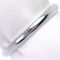 CARTIER Cartier Wedding Ring Classic Pt950 Platinum No. 8.5 Ladies Ring / Ring [Used] A + Rank
