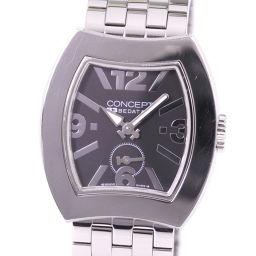 BEDAT&Co ベダ&カンパニー コンセプト B3 CB03 ステンレススチール シルバー クオーツ ボーイズ 黒文字盤 腕時計【中古】A-ランク