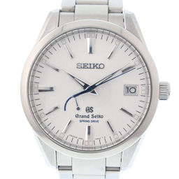 SEIKO セイコー グランドセイコー スプリングドライブ SBGA099 ステンレススチール 自動巻き メンズ シルバー文字盤 腕時計【中古】Aランク