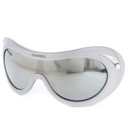 CHANEL Ski / Snowboard 15542 45002 A23200X01060 Plastic Gray Ladies Sunglasses [Used] S Rank