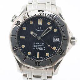 OMEGA オメガ シーマスター300M プロフェッショナル 2552.80 ステンレススチール シルバー 自動巻き ボーイズ 青文字盤 腕時計【中古】Aランク