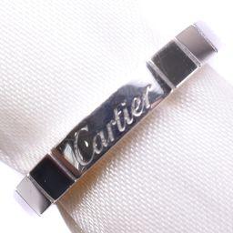 CARTIER カルティエ ラニエール K18ホワイトゴールド 12号 レディース リング・指輪【中古】SAランク