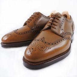 John Lobb ジョンロブ 革靴 25cm DARBY 8695 カーフ メンズ ドレスシューズ【中古】Sランク