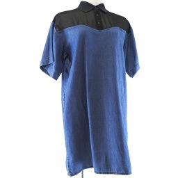 DIESEL Diesel DE-MONIQUE DRESS XXS Denim x Polyester Women's Dress [Used] S Rank