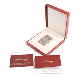 Dupont Gatsby Vertical Line Silver Unisex Lighter [Used]