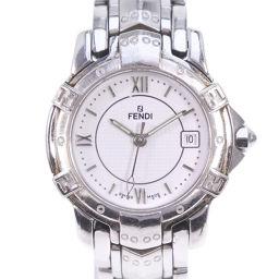FENDI フェンディ 3500L 3500L ステンレススチール シルバー クオーツ レディース 白文字盤 腕時計【中古】