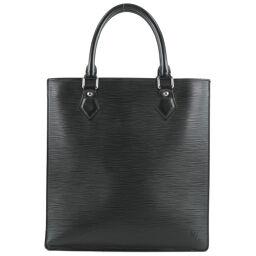 LOUIS VUITTON Louis Vuitton Sack Plastic PM M52882 Epi Leather Noir RI1025 Engraved Unisex Handbag [Used]