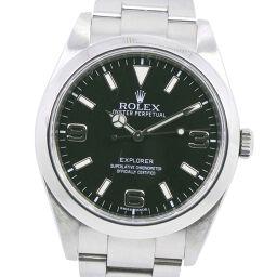 ROLEX ロレックス エクスプローラー1 214270 ステンレススチール 自動巻き メンズ 黒文字盤 腕時計【中古】