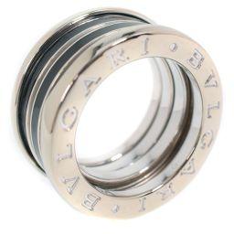 BVLGARI ブルガリ ビーゼロワン Bzero1 K18ホワイトゴールド 8号 49刻印 レディース リング・指輪【中古】SAランク
