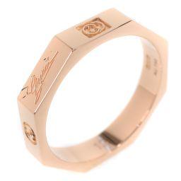 GUCCI グッチ オクタゴン 八角形 K18イエローゴールド 12号 12刻印 レディース リング・指輪【中古】SAランク