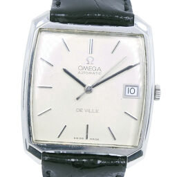 OMEGA オメガ デヴィル/デビル cal.1002 ステンレススチール×レザー 自動巻き メンズ シルバー文字盤 腕時計【中古】