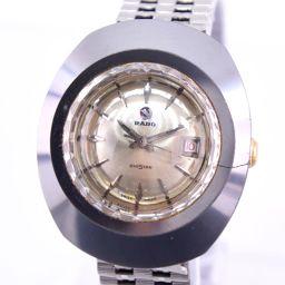 RADO ラドー ダイアスター water sealed ステンレススチール 自動巻き レディース シルバー文字盤 腕時計【中古】