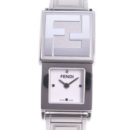 FENDI フェンディ シークレット 5400L ステンレススチール シルバー クオーツ レディース 白文字盤 腕時計【中古】Aランク