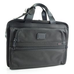 TUMI トゥミ キャリーケース装着可 ナイロン 黒 メンズ ビジネスバッグ【中古】Aランク