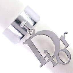 Dior Christian Dior Logo x Metal No. 14 7 Engraved Women's Rings / Rings [Used]