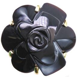 Camellia K18 Yellow Gold No. 21 Ladies Ring / Ring [Used] SA Rank