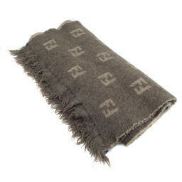 FENDI FENDI Wool Unisex Scarf [Used]