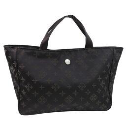 russet Rasit Nylon Dark Brown Ladies Handbag [Used] S Rank