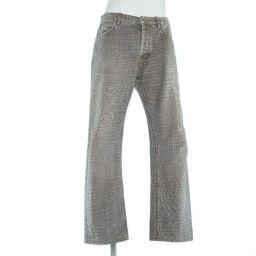 FENDI Fendi cotton denim brown men's denim pants [used]