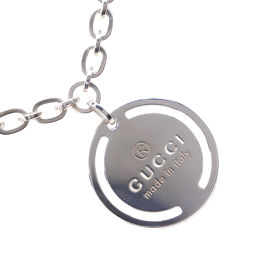GUCCI Gucci Silver 925 Unisex Necklace [pre-owned] A rank
