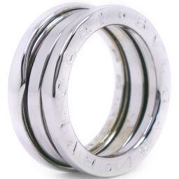 BVLGARI Bzero1 2 Band Bzero1 K18 White Gold No. 9 Ladies Ring / Ring [Used] A-Rank