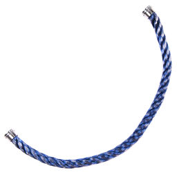FRED replacement cable Force 10 stainless steel blue unisex bracelet [used] A + rank