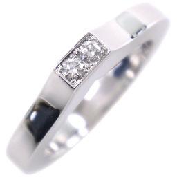 Chopard Chopard 2P Diamond 82/3629/0 K18 White Gold x Diamond No. 7.5 Ladies Ring / Ring [Used] SA Rank