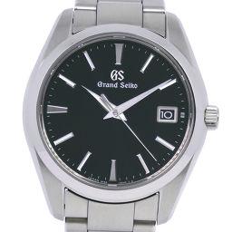 SEIKO セイコー グランドセイコー 9F82-0AF0 SBGV223 ステンレススチール クオーツ メンズ 黒文字盤 腕時計【中古】SAランク