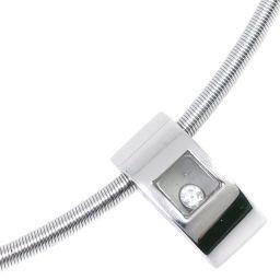 Chopard ショパール ハッピーダイヤ ネックレス 79/3035-20 K18ホワイトゴールド レディース チョーカー【中古】