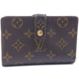 LOUIS VUITTON Louis Vuitton Porte Monevier Vienova M61663 Monogram Canvas Ladies Bi-fold Wallet [Used]