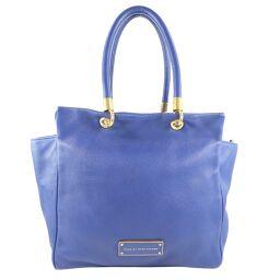 MARC BY MARC JACOBS Marc By Marc Jacobs Calf Blue Ladies Tote Bag [Used]