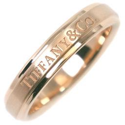 TIFFANY&Co. ティファニー バンドリング K18イエローゴールド 11号 レディース リング・指輪【中古】SAランク