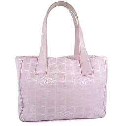 CHANEL CHANEL Tote PM New Travel Nylon Pink Ladies Tote Bag [Used]