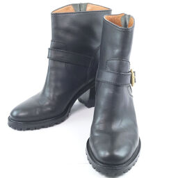 MARC BY MARC JACOBS Marc By Marc Jacobs Calf Black Women's Boots [Used] A-Rank