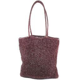 ANTEPRIMA Wire Bordeaux Ladies Handbag [Used]