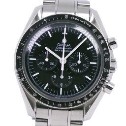 OMEGA オメガ スピードマスター プロフェッショナル 3570.50 ステンレススチール シルバー 手巻き メンズ 黒文字盤 腕時計【中古】