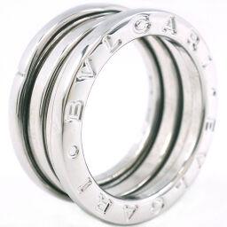BVLGARI Bzero1 2 Band K18 White Gold No. 9.5 Ladies Ring / Ring [Used]