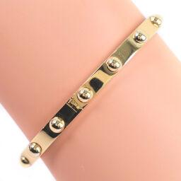 LOUIS VUITTON Louis Vuitton Brasserie Crew 1P Diamond K18 Yellow Gold x Diamond Ladies Bracelet [Used] A + Rank