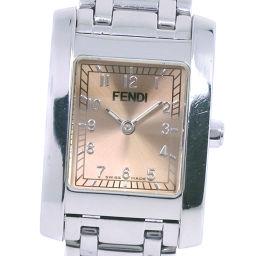 FENDI フェンディ オロロジ 700L ステンレススチール シルバー クオーツ レディース ブロンズ文字盤 腕時計【中古】